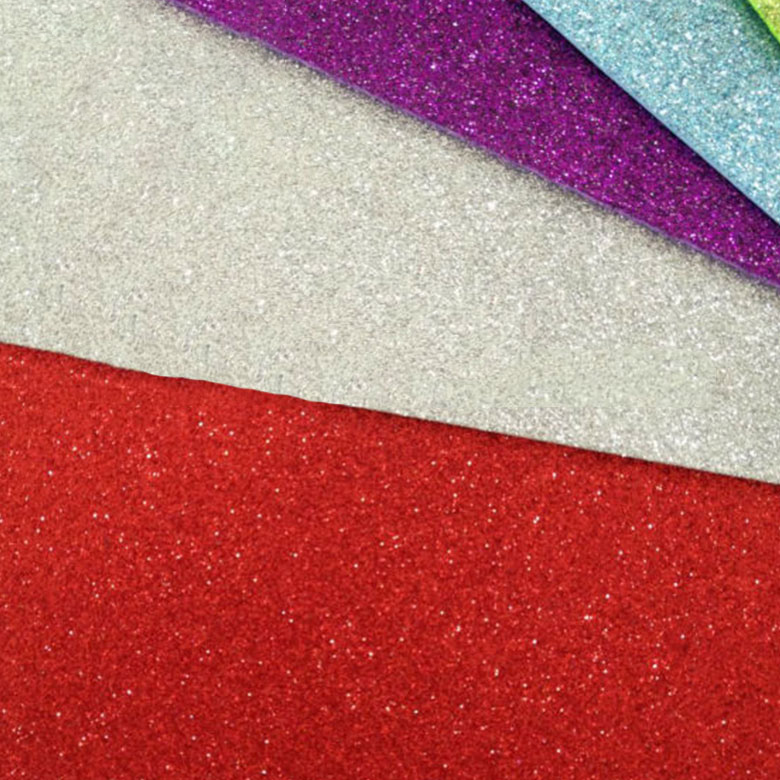 Factory Outlets Eva Sheet For Soles - China supplier colorful fabric craft glitter plastic eva glitter foam sheet – WEFOAM