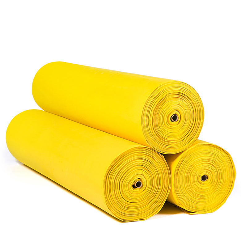 custom color yellow material roll eco-friendly eva  foam rubber shoe soles material