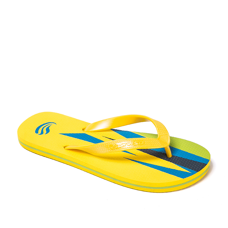 New Delivery for Women Sandals Shoes/High Heel Wedge Sandals - Cheap price customized logo New design Summer Beach yellow foam sole soft slippers plastic strap flip flops for Man – WEFOAM
