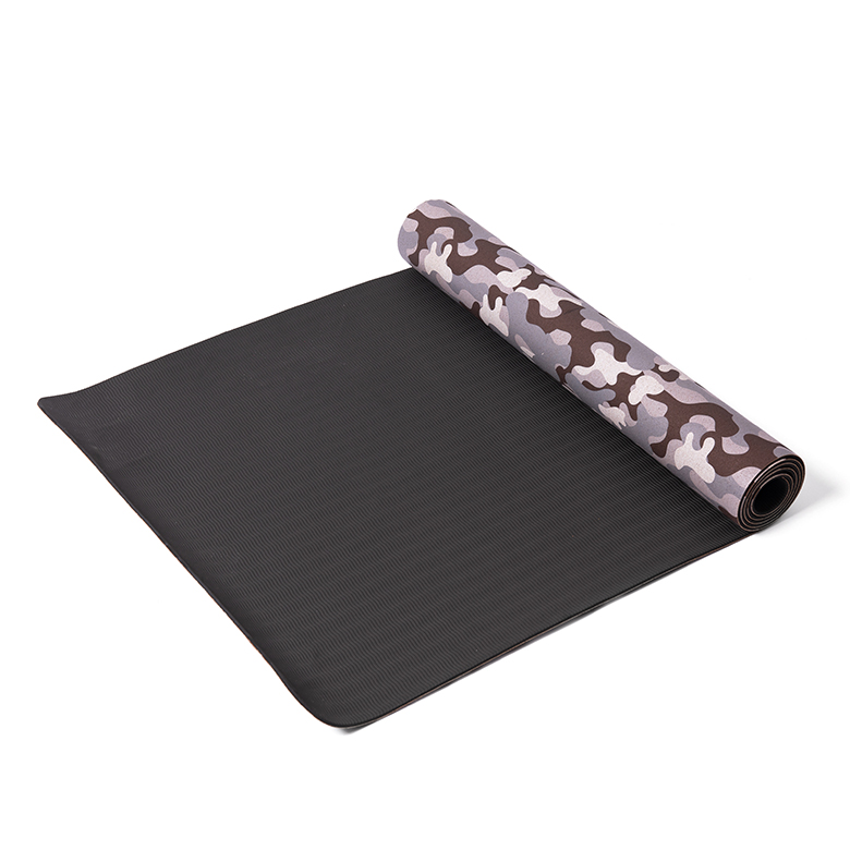 New Delivery for Cr Rubber Sheet Roll - custom print odorless lightweight extra large size eco friendly sgs certified tpe  camouflage high quality cork yoga mat – WEFOAM