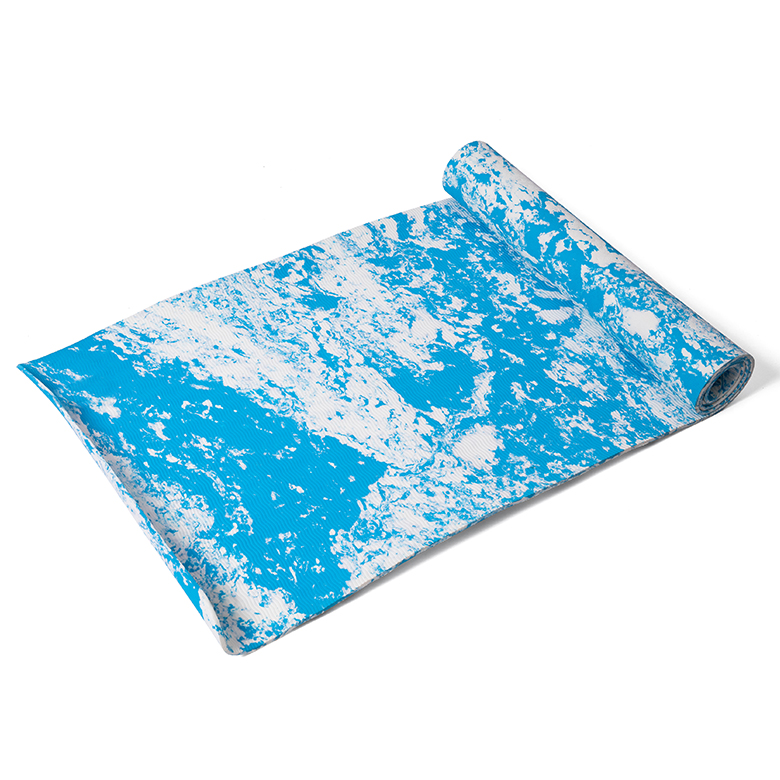 Factory directly supply Grip Yoga Mat - factory manufacturer cheap price blue sky cloud cheap custom camouflage camo  fitness non slip thick 1/2 inch anti-slip yoga mat – WEFOAM