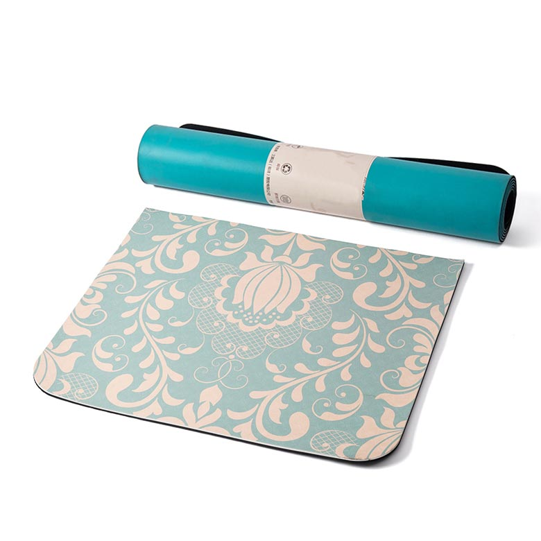 Europe style for Yoga Rubber Mat - OEM multi color anti fatigue private label water lily tpe grip yoga mat for hot yoga bikram ashtanga sweaty workouts – WEFOAM