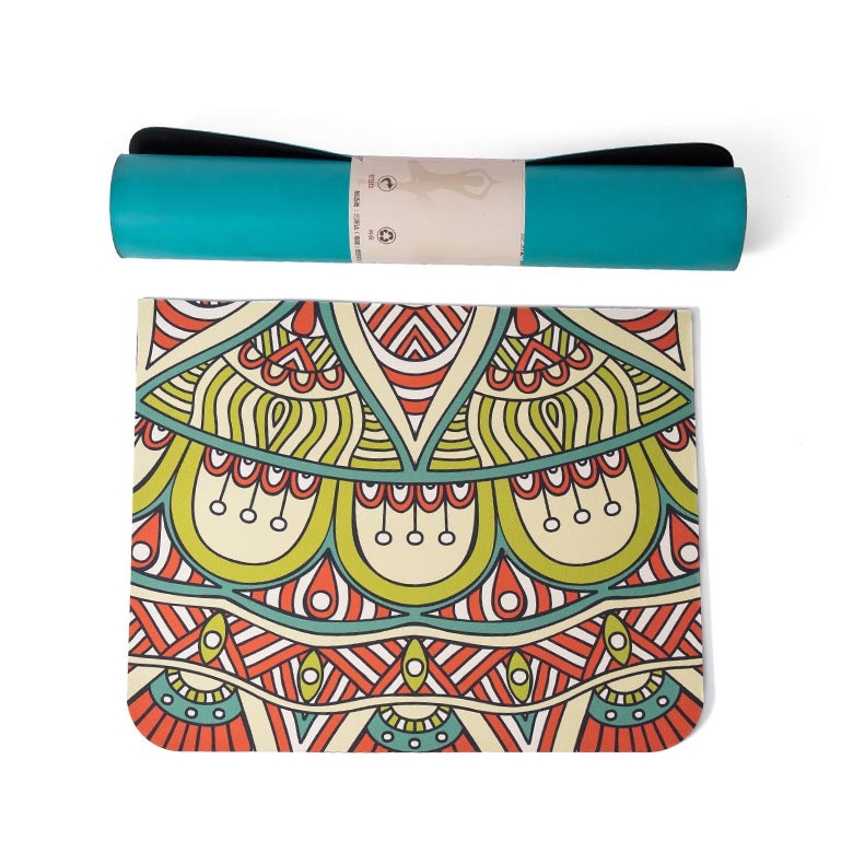 Low price for Yoga Mat Material - custom print odorless lightweight big size eco friendly sgs certified boho bohemian material  tpe large yoga mats – WEFOAM