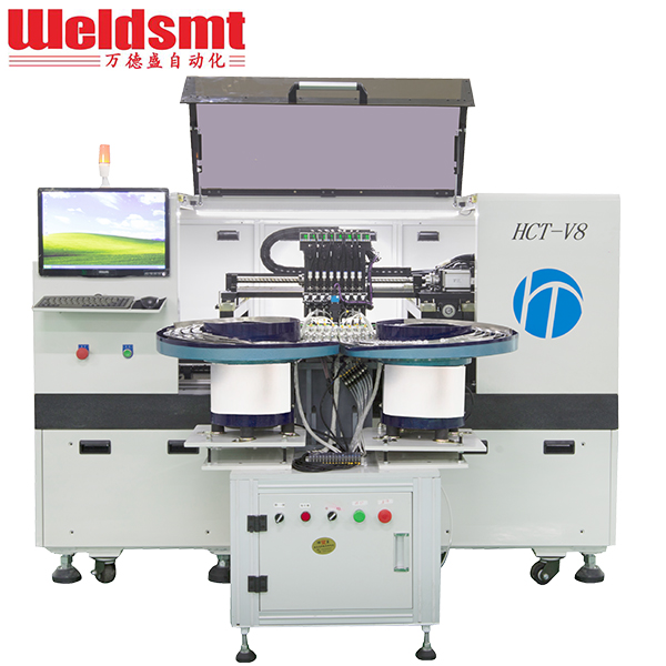 High-speed LED Lens Mounter HCT-V8 Automatic Lens Placement Machine Featured Image