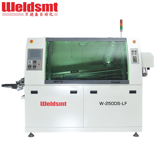 Chinese Professional Wave Soldering Machine Profile - Small Lead-Free Double-Wave Soldering System W-250DS-LF Wave Soldering Machine – WELDSMT