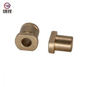 New Arrival Wholesale Spring Bushing Press - Layered Powder Metallurgy SAE- 841 Material Flanged Sealed Bearing – Welfine