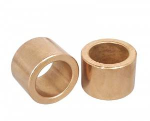 Machine Parts China Bronze CuSn10 Bushing for Sale