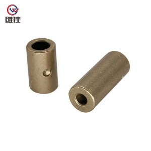 Layered Powder Metallurgy Cu663 Journal Sleeve Bearings