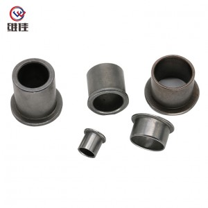 Copper Powder Metallurgy Oilite Brass Material Bearing Sleeve
