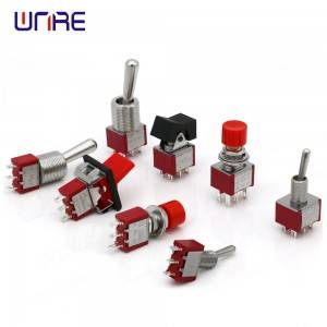 Momentary Latching Toggle Switch  SPST DPDT Par...