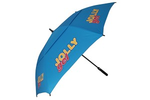 Unisex sport double-canopy golf umbrella
