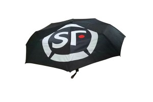 Plain manual open fold umbrella