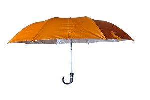 Solid colour present umbrella