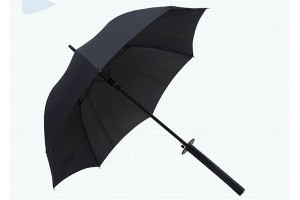 Warrior samurai luxury umbrella