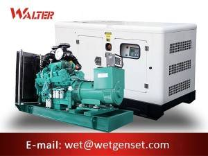 Factory Free sample Small Sound Proof Generator - Silent Engine Diesel Generator – Walter