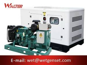China Factory for Quality Diesel Generator - 60HZ 80kva Volvo engine diesel generator – Walter