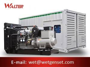 Personlized Products Three Phase Generator - 50HZ 900kva Perkins engine diesel generator – Walter