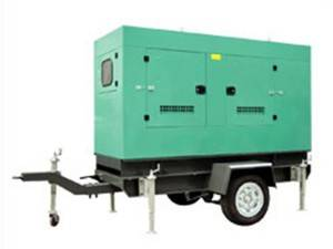 Factory Cheap Hot Rainproof Diesel Generator - trailer generator set – Walter