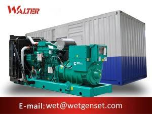 China Factory for Electrical Generator Set - 50HZ 500kva Cummins engine diesel generator – Walter