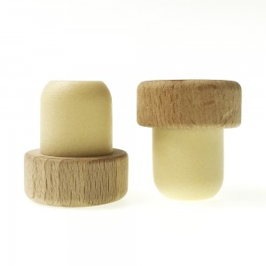 Bartop Synthetic Polymer Cork with Wooden Top