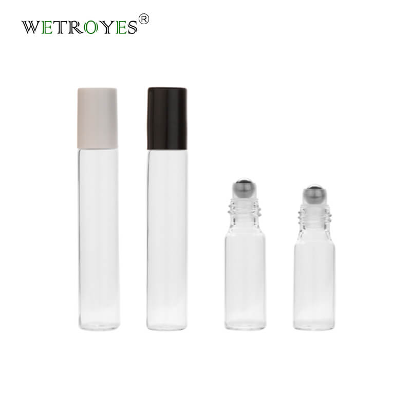 Roll On Tubular Glass Vial 5ml 10ml Rollerball Vintage Perfume Oil Roller Bottles Featured Image