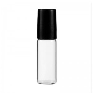 Roll On Tubular Glass Vial 5ml 10ml Rollerball Vintage Perfume Oil Roller Bottles