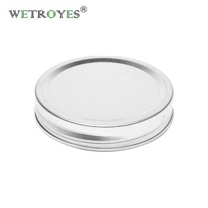 70mm Tinplate Airtight Regular Mouth Mason Jar Lids