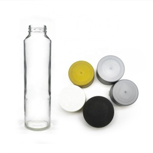 Empty 400ml Voss Style Glass Bottle for Mineral Water