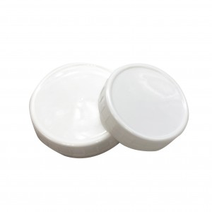 Stand Mouth Mason Jar Lid 70mm 86mm in Clear Color