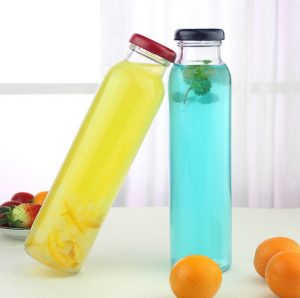 300ML Straight Beverage Glass Bottle with 38mm Cap