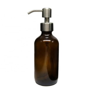 Good Wholesale VendorsCobalt Blue Glass Bottle - Amber 250ml Boston Round Squeeze Glass Bottle for Shampoo with Pump Lid – Troy
