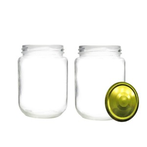 Good User Reputation for Dropper Bottle - Wholesale Round Clear Glass Coconut Oil Bottle with Cap – Troy