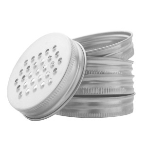 Stainless Steel Cheese Grater Lid Vegetables Shredder Lid for Regular Mouth Mason Jars