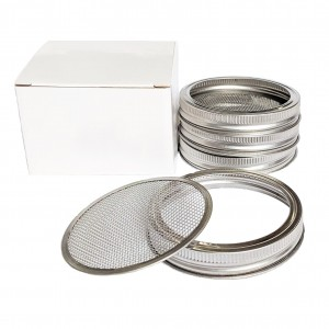 Stainless Steel 86mm Sprouting Sieve Mesh Screen and Band