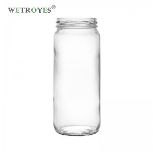 16 oz Paragon Glass Bottle Jar For Boba Tea Milk