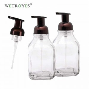 Wholesale Glass Foaming Soap Dispenser with Foaming Pump