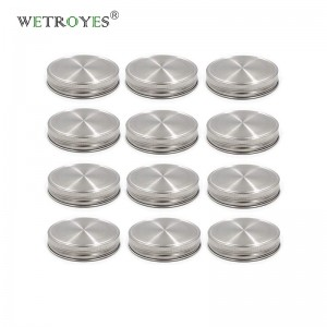 86mm Stainless Steel Canning Mason Jar Lids