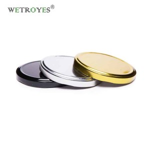 82mm Twist Off Metal Lids with Plastisol Liner for Glass Jar