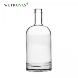 500ml Nordic Glass Liquor Bottle