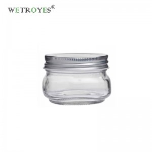 4oz 120ml Round Regular Mouth Glass Mason Jar