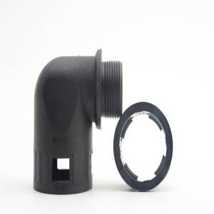Factory selling Metal Flex Tubing - Plastic Elbow Connector – Weyer