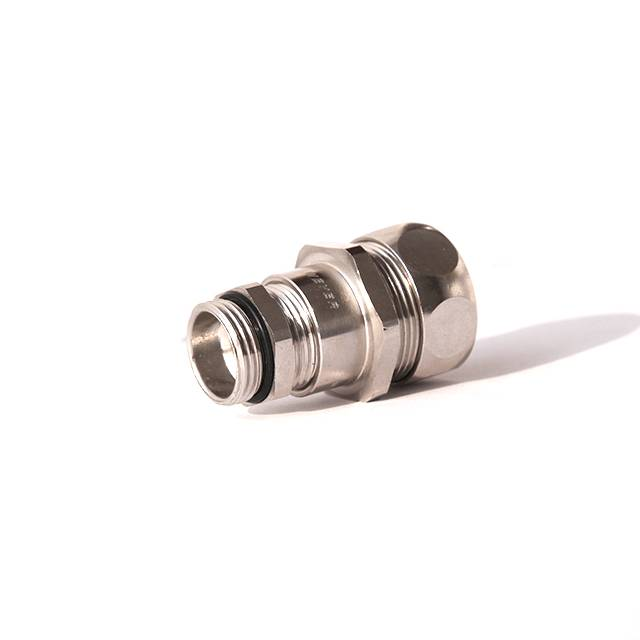 Factory wholesale 3 Liquid Tight Conduit - Metal Conduit Connector With Strain Relief – Weyer