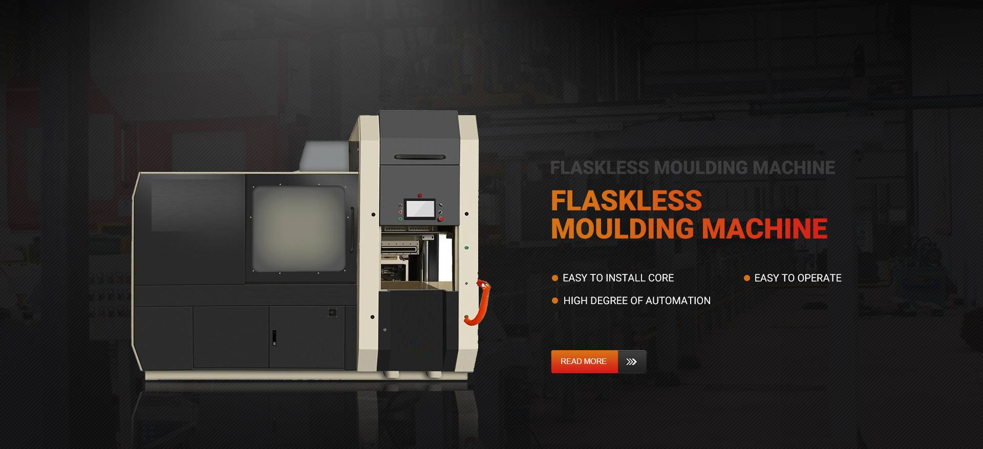 Flaskless Moulding Machine