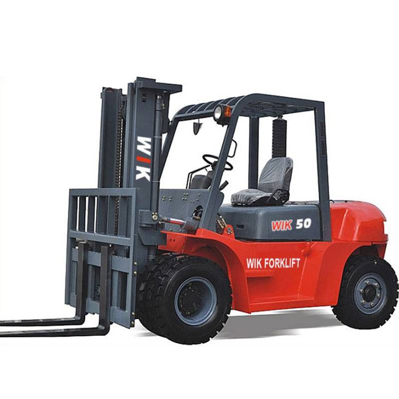 18 Years Factory New 4 Ton Heli Forklift - 5.0-ton Forklift Trucks – Wilk