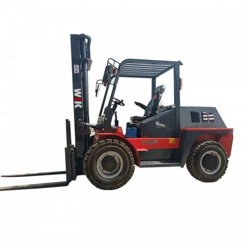 Chinese Professional Forklift Wheel Loader - 3.5ton 4WD rear steering Forklift Trucks – Wilk