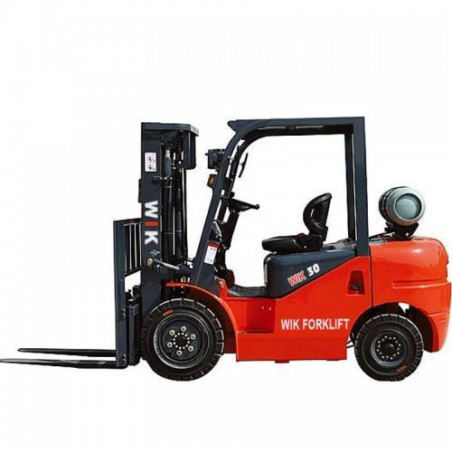 Factory directly supply 10 Ton Diesel Forklift - WIK30Dual fuel forklift – Wilk