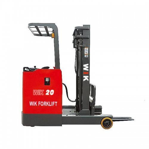 100% Original Factory 2 Ton Diesel Forklift - Electric reach forklift – Wilk