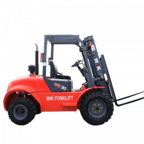 High reputation 2.5 Ton Forklift - 5.0 ton diesel off-road Forklift – Wilk