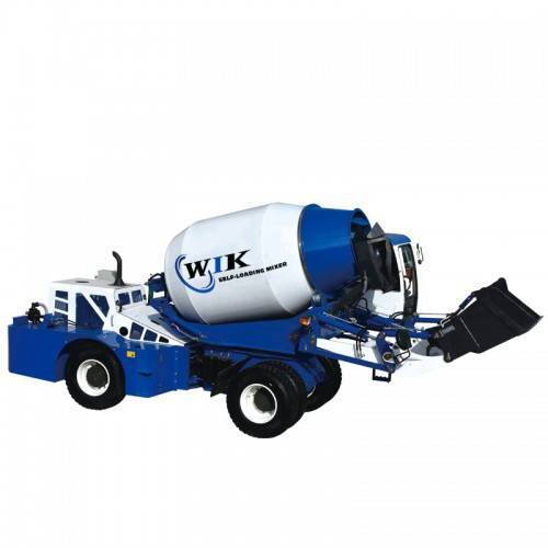 High Quality for Mobile Concrete Cement Mixer - WIK 6800 Self Loading Concrete Mixers – Wilk