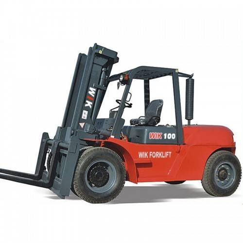 Factory wholesale Off-Road Diesel Forklift - 10.0-ton Forklift Trucks – Wilk